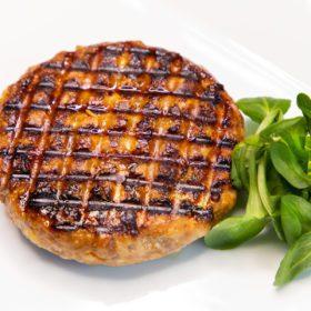 Burger z vepřového masa