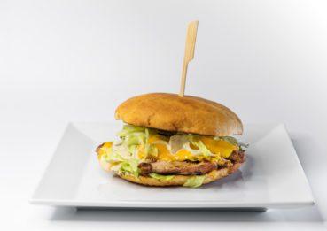 Burger s filírovaným masem