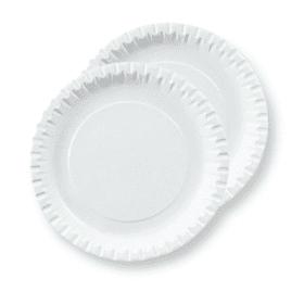 Papírové talíře na pizzu